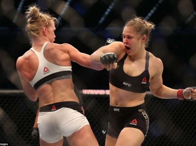Holm vs Rousey